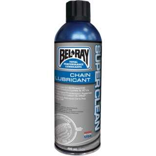 Mazivo na řetěz BEL-RAY SUPER CLEAN CHAIN LUBE 400 ML