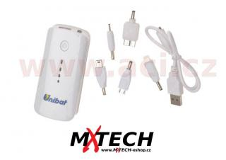 POWER BANKA UNIBAT kapacita 5 200 mAh