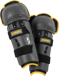 Kolenní chrániče THOR SECTOR GP KNEE GUARD CE CHARCOAL/YELLOW