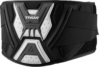Ledvinový pás THOR FORCE BELT BLACK/GREY vel. L/XL