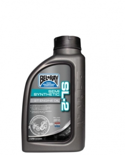 Olej BEL-RAY SL-2 SEMI-SYNTHETIC 2T ENGINE OIL 1 LITR