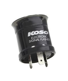 Přerušovač blinkrů KOSO NORTH KD006020 FLASHER RELAY 12V 15A 2-PIN