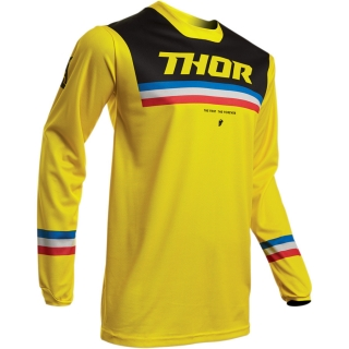 Motokrosový dres THOR PULSE PINNER YELLOW