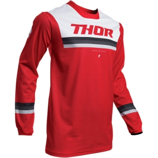 Motokrosový dres THOR PULSE PINNER RED