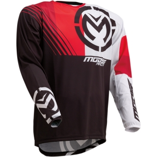 Motokrosový dres MOOSE RACING M1 BLACK/RED