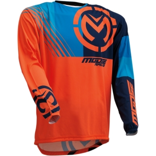 Motokrosový dres MOOSE RACING M1 ORANGE/BLUE