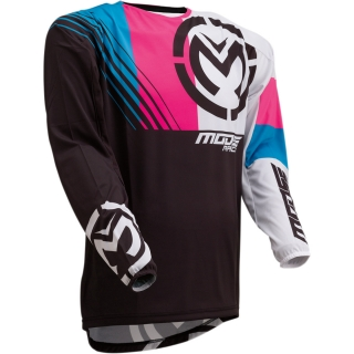 Motokrosový dres MOOSE RACING M1 BLACK/PINK
